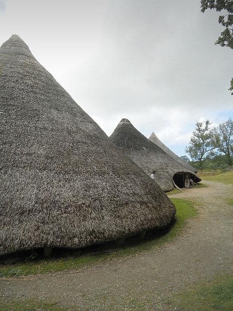 Welsh housing estate (pre-Roman style)