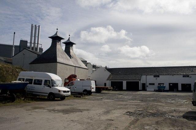 Industrial Estate behind Port Ellen maltings