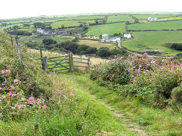 Pembroke Coastal Footpath above Ceibwr Bay
