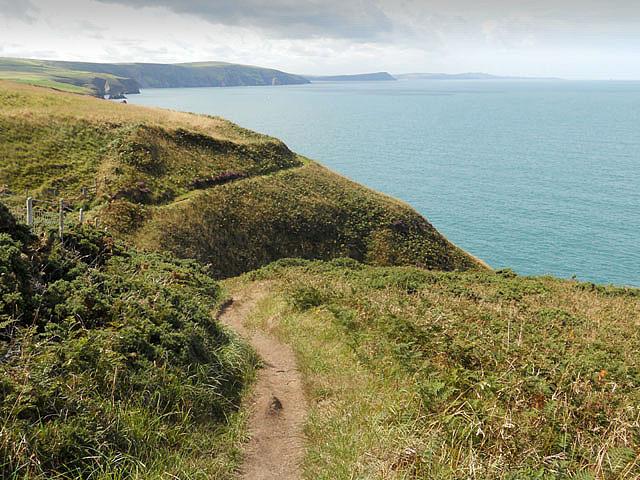 On the Pembroke Coastal Footpath