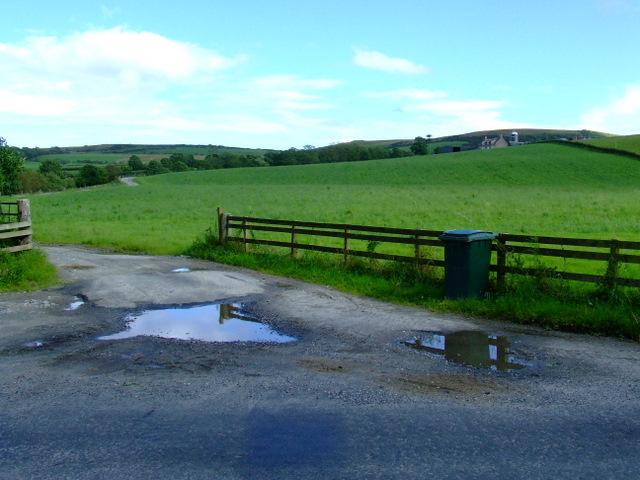 Entrance to Cranslagloan Farm