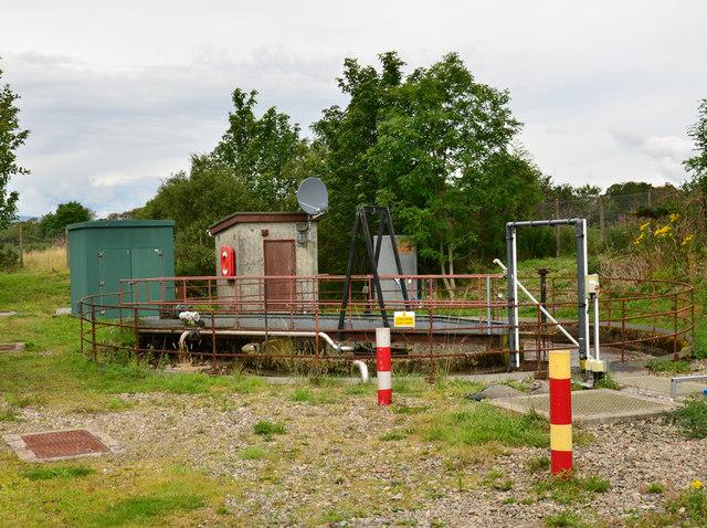 Sewage works near Tralee Bay