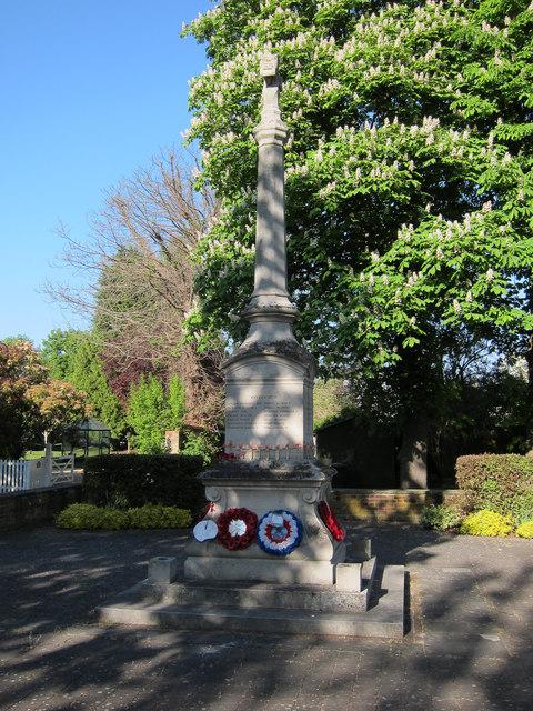 War memorial, Bassingbourn