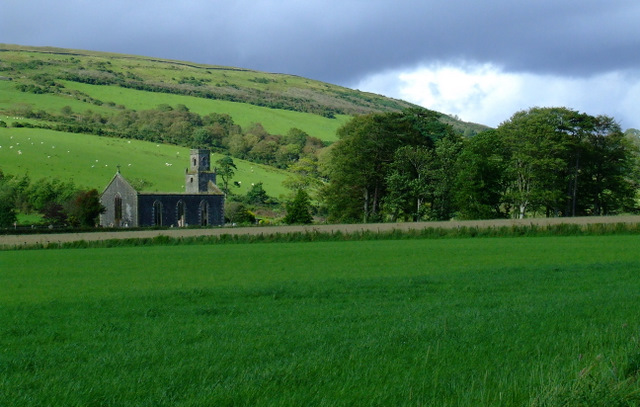 Ruined church of St Colmac