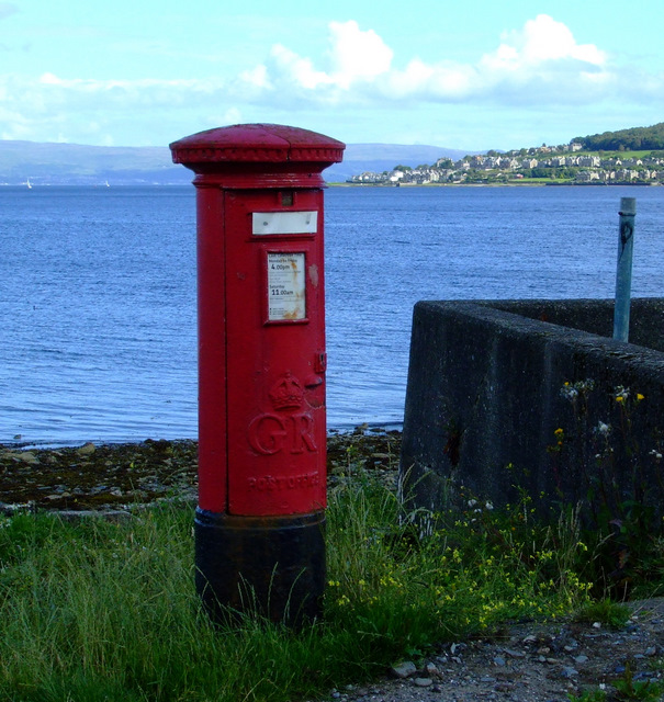 Disused pillar box