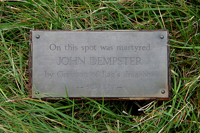 The John Dempster plaque on Meaul