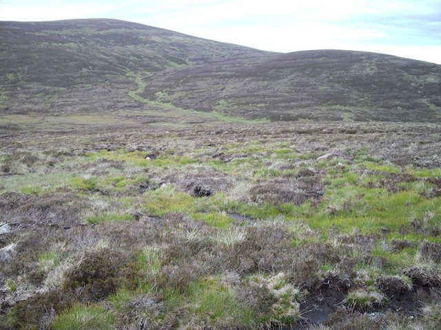 Rough ground by the Tarf Water