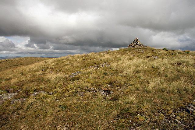 The summit of Coran of Portmark