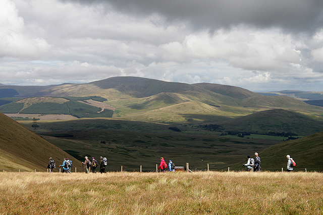 Walking in the North Galloway Hills