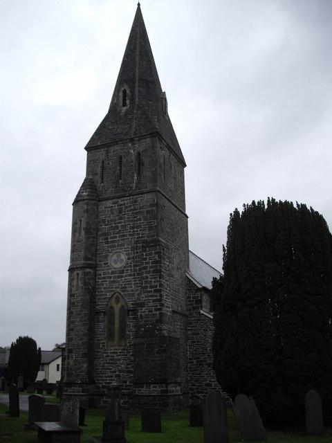 Tower of Christ Church, Bala