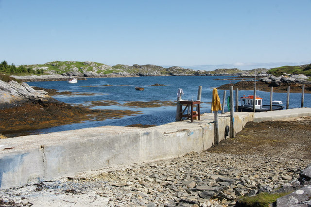 Jetty at Flodabay (Fleoideabhagh)