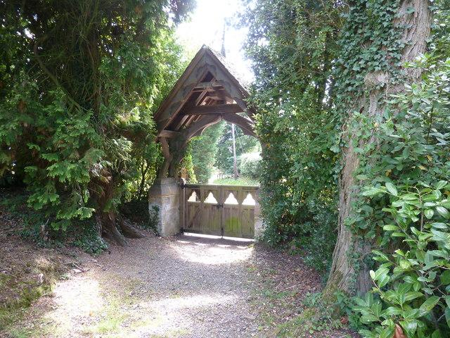 Lych gate at All Saints church