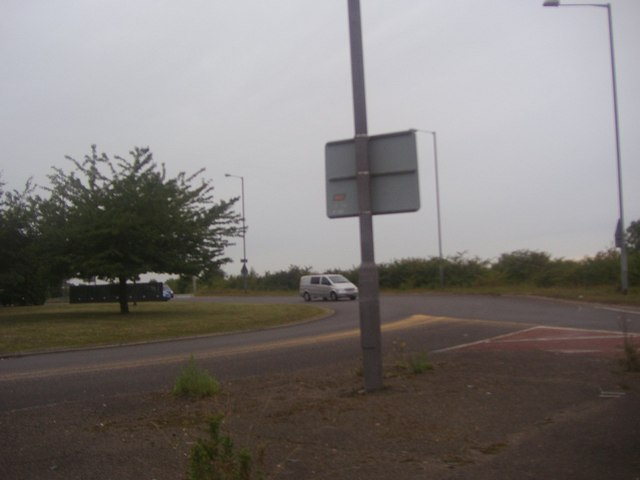 Roundabout on the A6, Barton-le-Clay