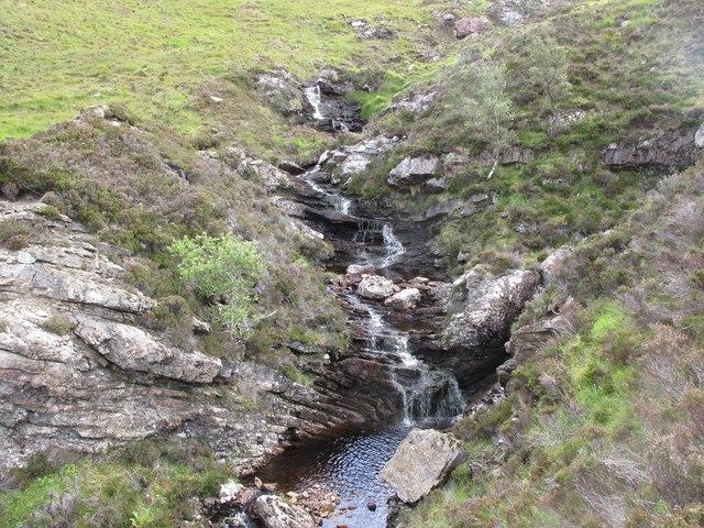 Waterfall near Eriboll
