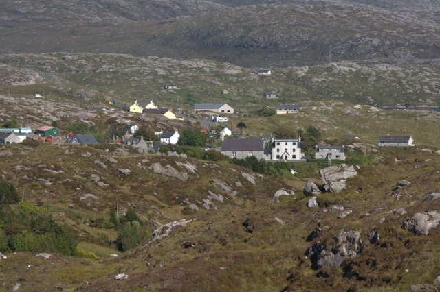 East end of Tarbert from above Old Pier Road