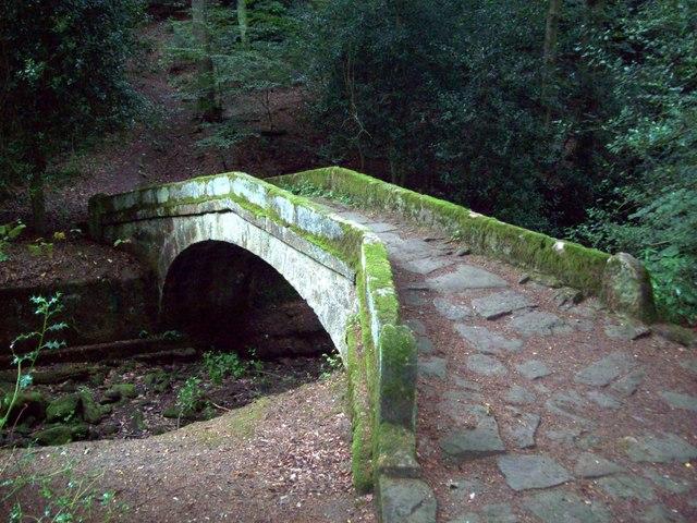 Packhorse Bridge in Glen Howe Park