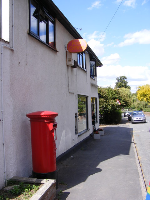 Grundisburgh Post Office & Post Office The Street Postbox