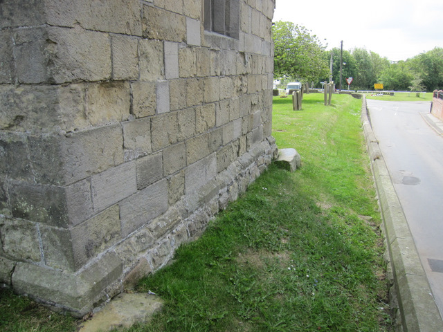 The north west face of St Michael's, and Church Lane