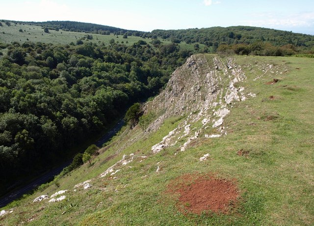 Edge of Burrington Combe