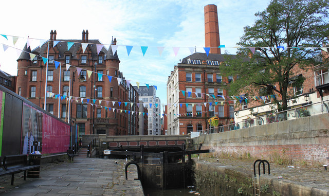 Rochdale Canal, Manchester City Centre
