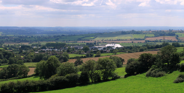 2011 : South west from Whitstone Hill