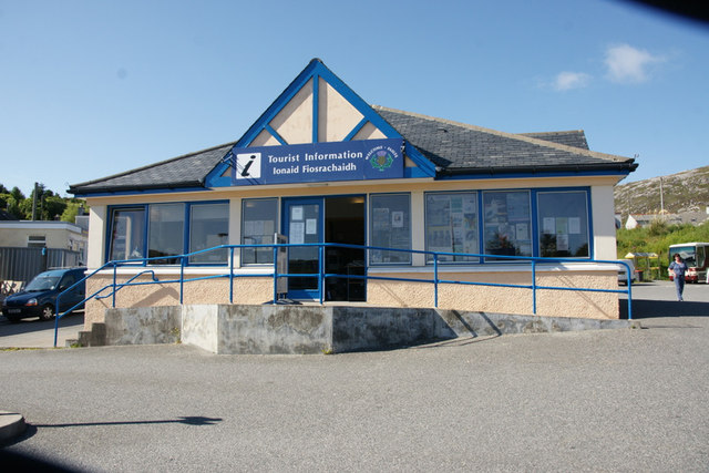 Tourist Information Office in Tarbert