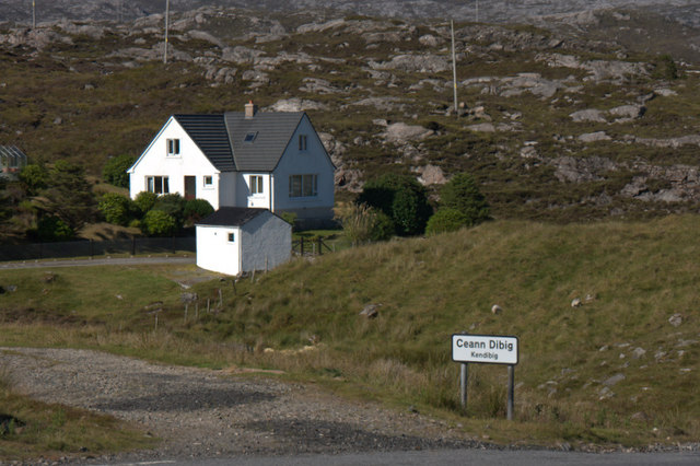 House at Kendebig (Ceann Dibig)