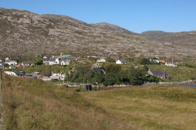 Tarbert from Direcleit