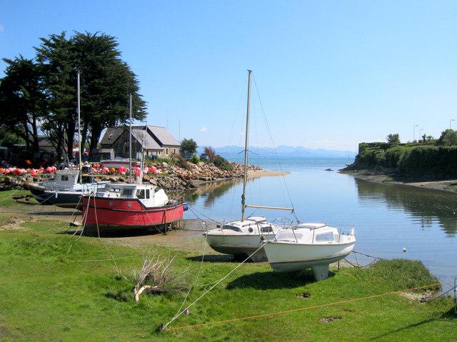 Inner harbour, Abersoch