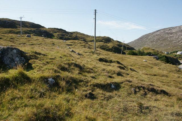 Hillside at Direcleit