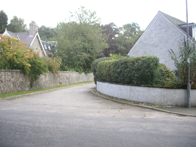 A driveway off William Street, Torphins