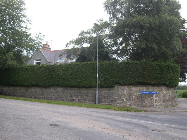 Eastern end of William Street, Torphins