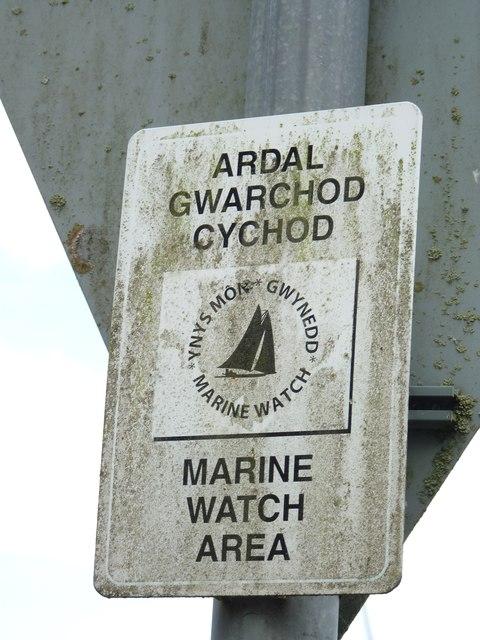 Porth Penrhyn is a Marine Watch Area, Bangor