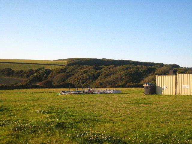Field at Tywarnhale Farm