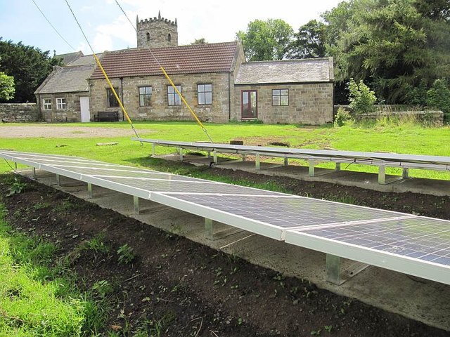 Solar Panels at the Village Hall