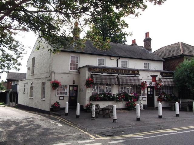 Robin Hood and Little John Public House, Bexley