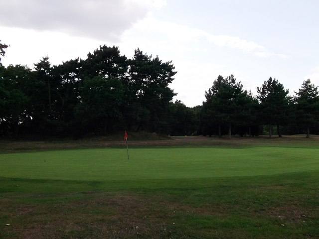 Green in Bexleyheath Golf Course