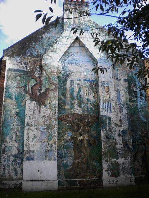 Mural, Elspeth Road SW11