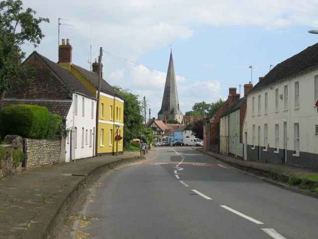 Main street, Westbury-on-Severn