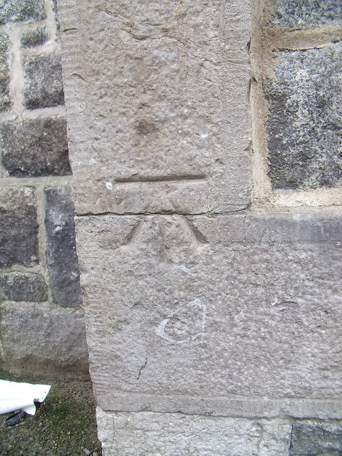 Benchmark on Youth Centre, Caernarfon