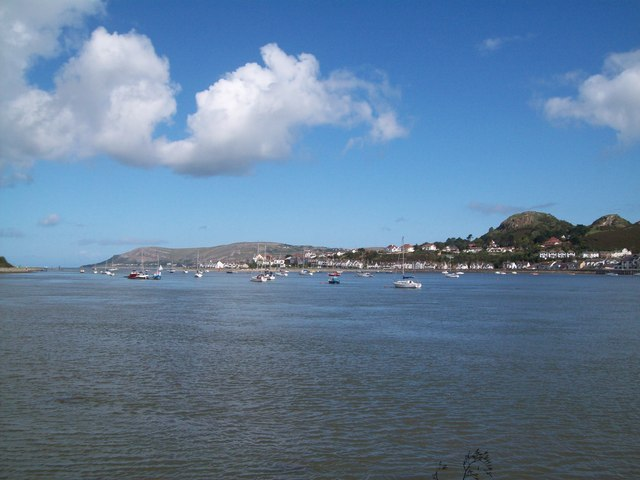 The Conwy Estuary from The North Wales Path