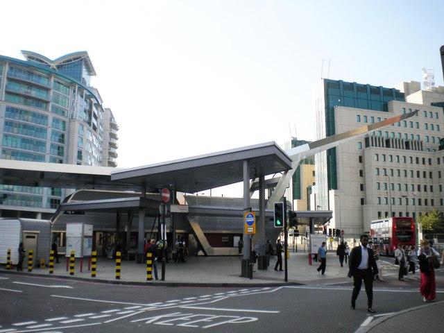 Vauxhall Underground Station, Bondway SW8