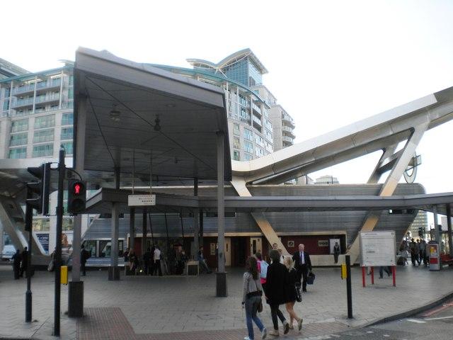 Vauxhall Underground Station entrance, Bondway SW8