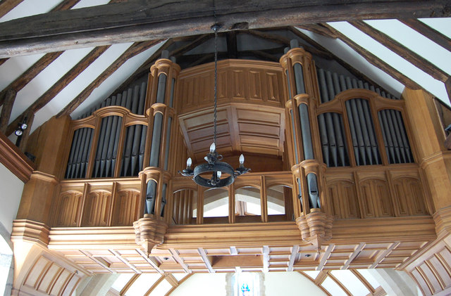 The Organ in East Dean Church