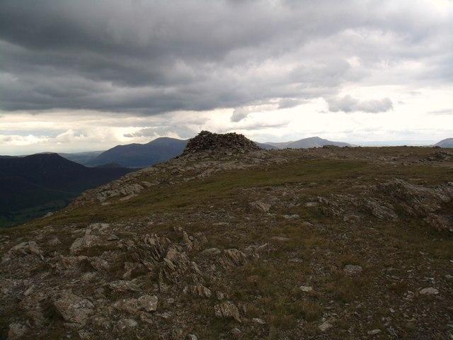 Hindscarth summit cairn