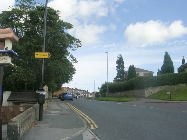 Tinshill Road - viewed from Tinshill Lane