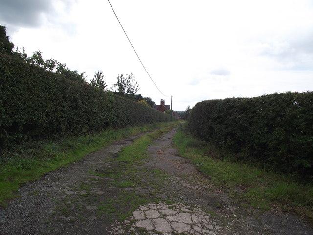 Track to Higher Barn Farm