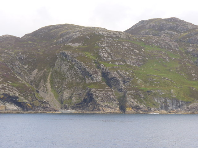 Coast by Rubhan a' Chall