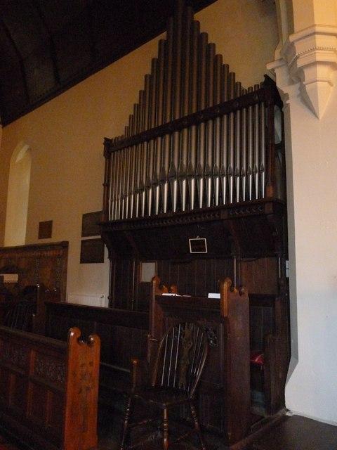 Organ at St Mary Ewshot