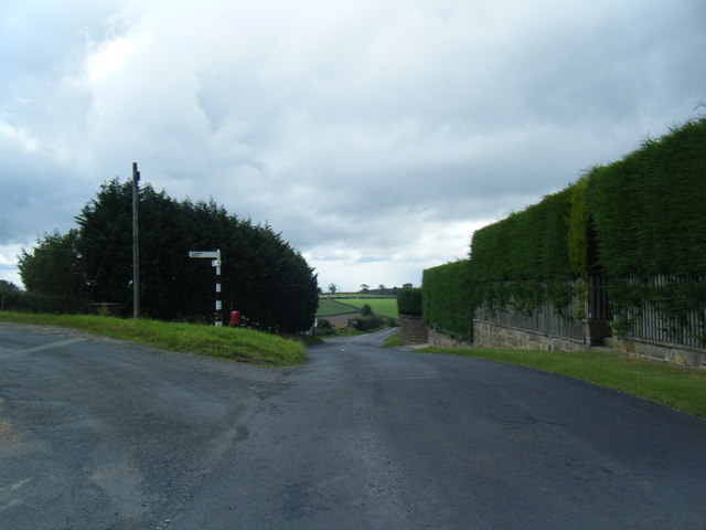 Newton Firs road junction